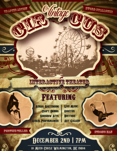 Vintage Circus - Interactive Theater