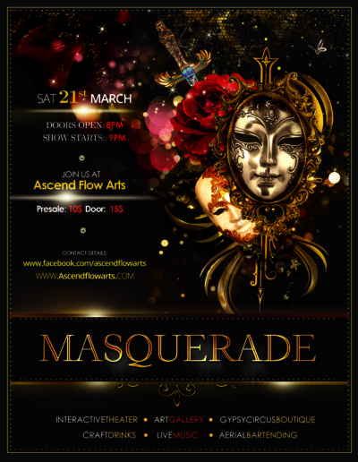 March Masquerade - Interactive Theater